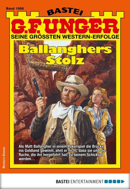 Cover-Bild G. F. Unger 1966 - Western