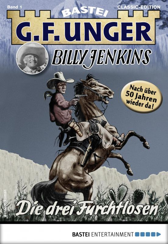 Cover-Bild G. F. Unger Billy Jenkins 1 - Western