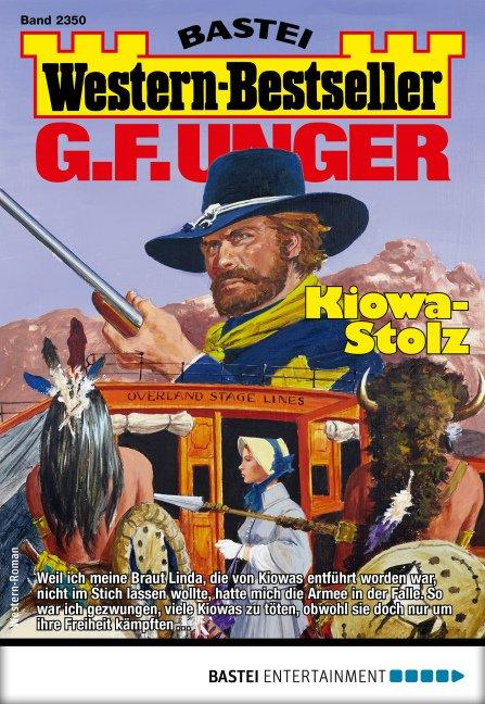 Cover-Bild G. F. Unger Western-Bestseller 2350 - Western
