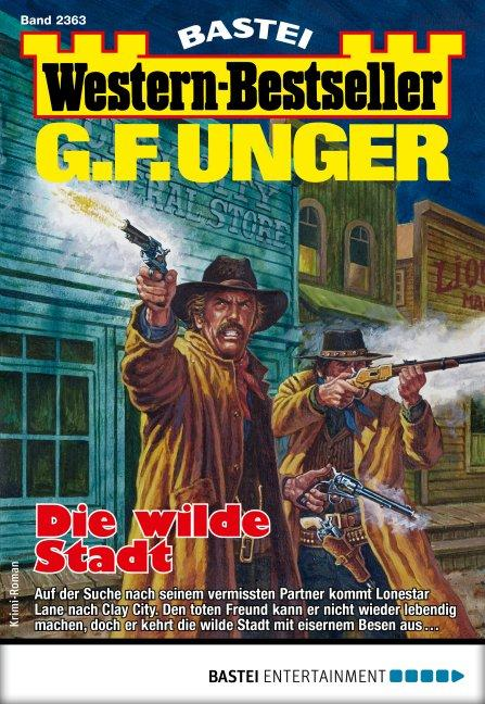 Cover-Bild G. F. Unger Western-Bestseller 2363 - Western