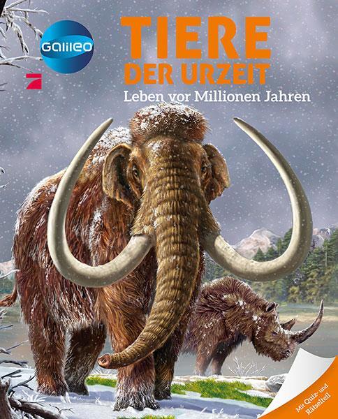 Cover-Bild Galileo Wissen: Tiere der Urzeit