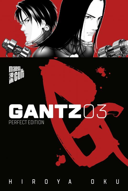 Cover-Bild Gantz 3