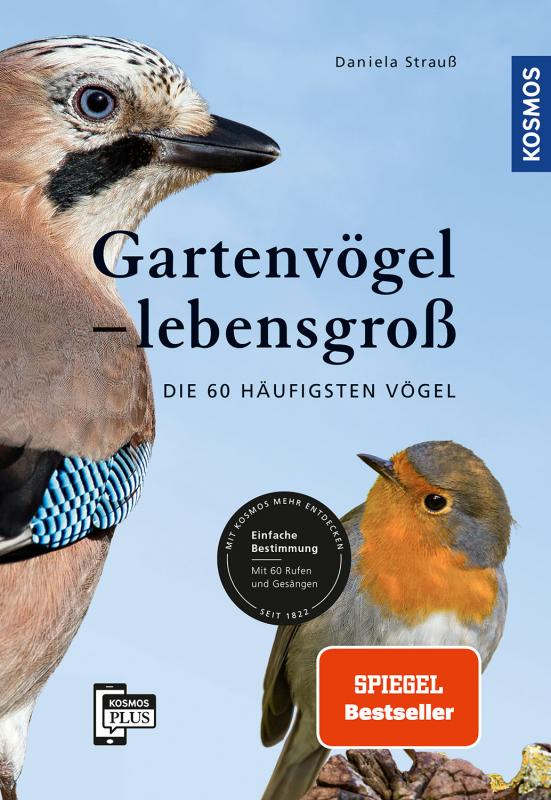 Cover-Bild Gartenvögel lebensgroß