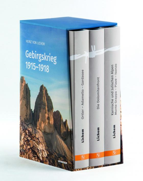 Cover-Bild Gebirgskrieg 1915–1918