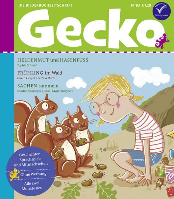 Cover-Bild Gecko Kinderzeitschrift Band 83