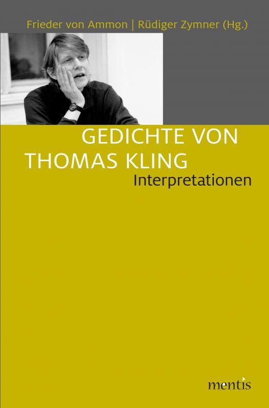 Cover-Bild Gedichte von Thomas Kling