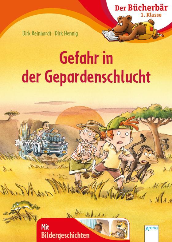 Cover-Bild Gefahr in der Gepardenschlucht