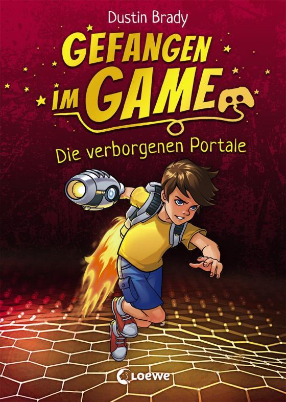 Cover-Bild Gefangen im Game - Die verborgenen Portale