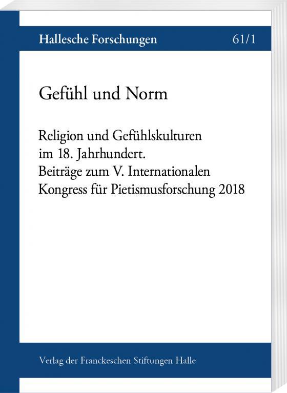 Cover-Bild Gefühl und Norm