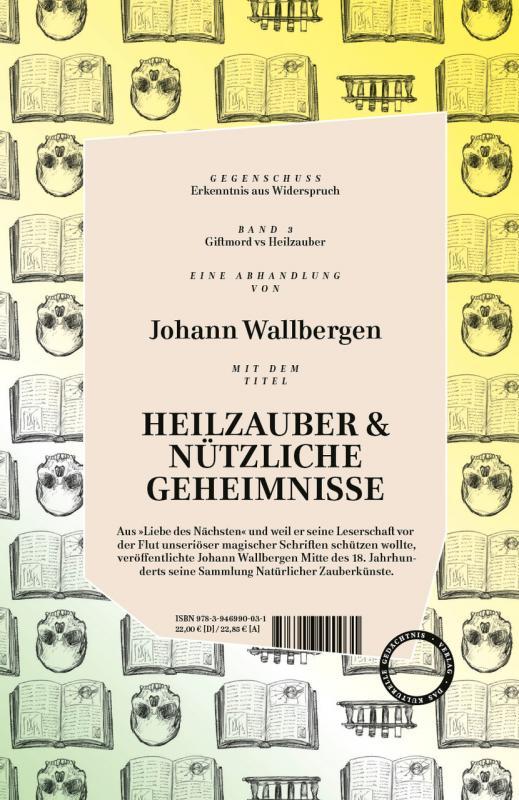 Cover-Bild Gegenschuss - GIFTMORD versus HEILZAUBER & NÜTZLICHE GEHEIMNISSE