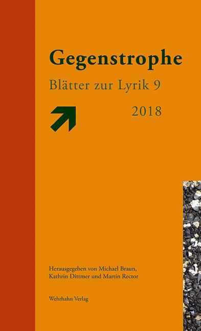 Cover-Bild Gegenstrophe 9 2018