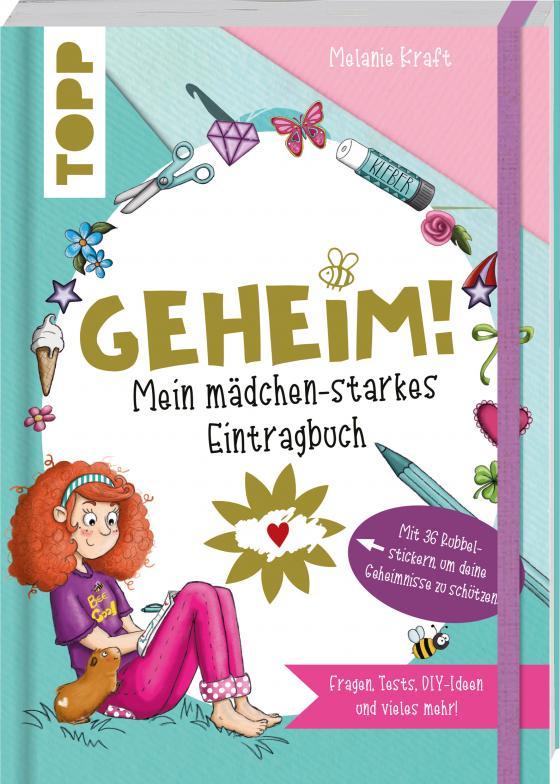 Cover-Bild Geheim! Mein mädchen-starkes Eintragbuch