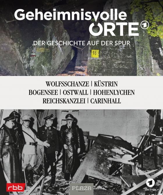 Cover-Bild Geheimnisvolle Orte - Der Geschichte auf der Spur - RBB und das Erste Deutsche Fernsehen