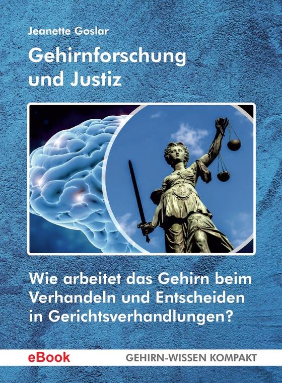 Cover-Bild Gehirnforschung und Justiz