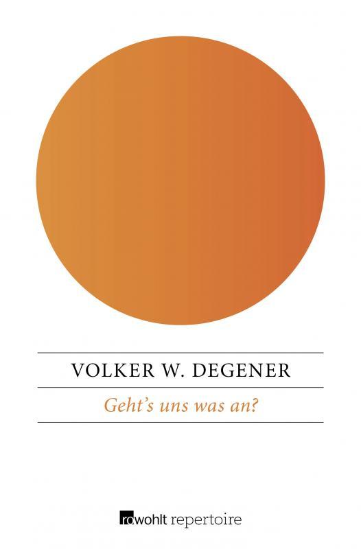 Cover-Bild Geht's uns was an?