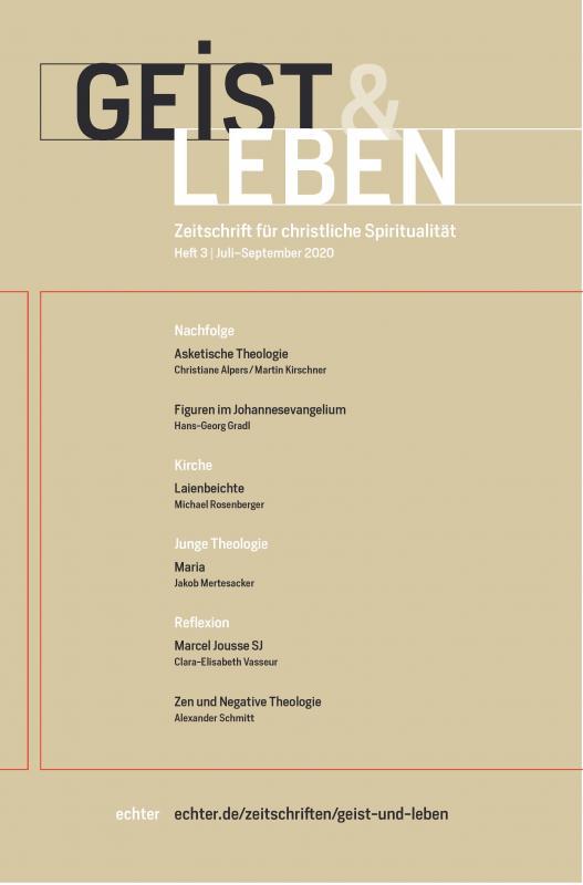 Cover-Bild Geist & Leben 3/2020