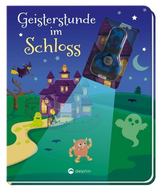 Cover-Bild Geisterstunde im Schloss (Mit UV-Licht-Taschenlampe)