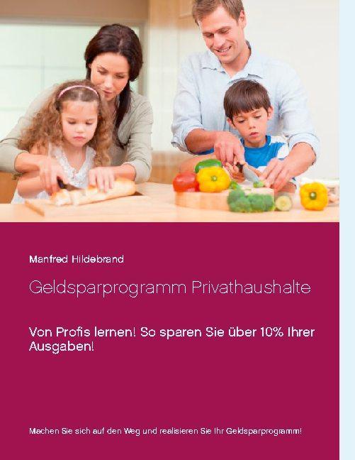 Cover-Bild Geldsparprogramm Privathaushalte