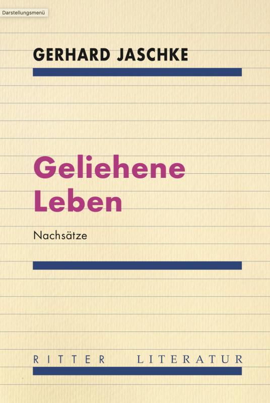 Cover-Bild Geliehene Leben