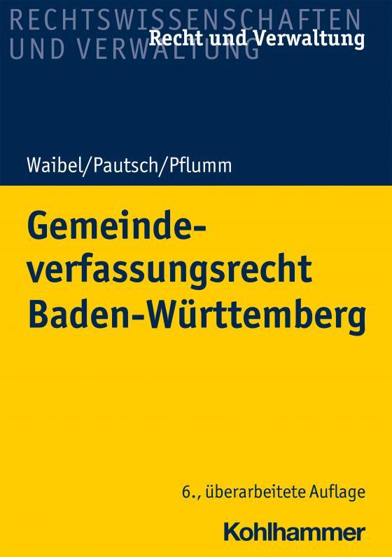 Cover-Bild Gemeindeverfassungsrecht Baden-Württemberg