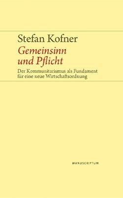 Cover-Bild Gemeinsinn und Pflicht