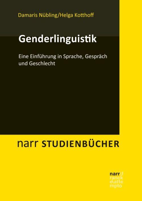 Cover-Bild Genderlinguistik