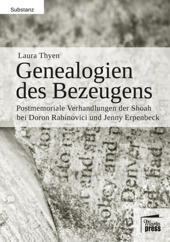 Cover-Bild Genealogien des Bezeugens
