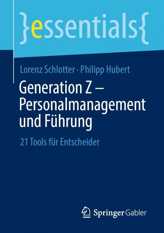 Cover-Bild Generation Z – Personalmanagement und Führung