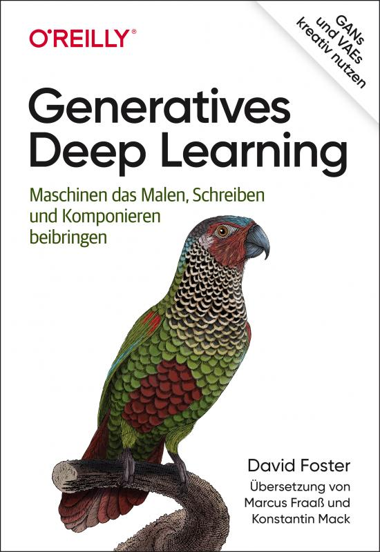 Cover-Bild Generatives Deep Learning