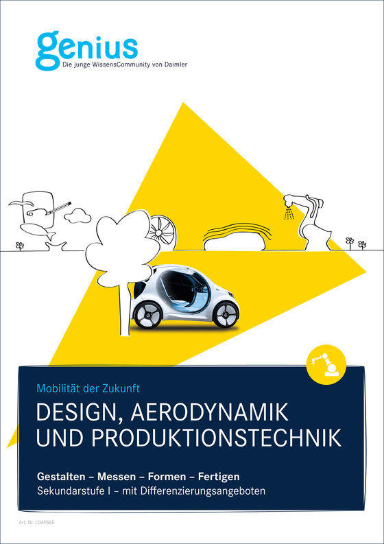 Cover-Bild Genius Design, Aerodynamik und Produktionstechnik SekI