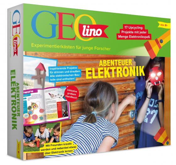 Cover-Bild GEOlino Abenteuer Elektronik
