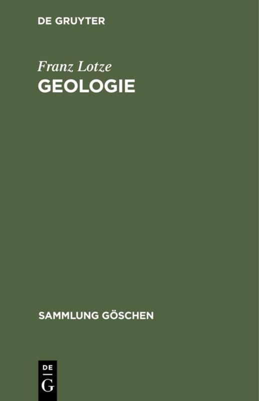 Cover-Bild Geologie
