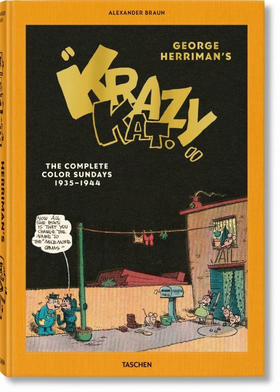 """Cover-Bild George Herrimans """"Krazy Kat"""". Die kompletten Sonntagsseiten in Farbe 1935–1944"""