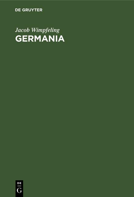 Cover-Bild Germania
