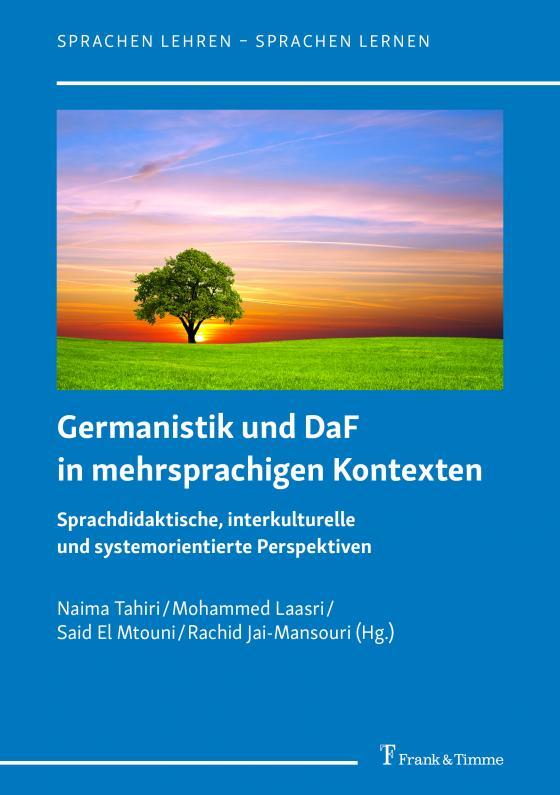 Cover-Bild Germanistik und DaF in mehrsprachigen Kontexten