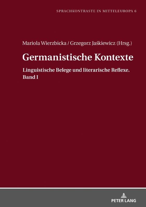 Cover-Bild Germanistische Kontexte