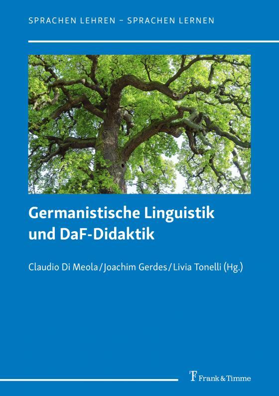 Cover-Bild Germanistische Linguistik und DaF-Didaktik