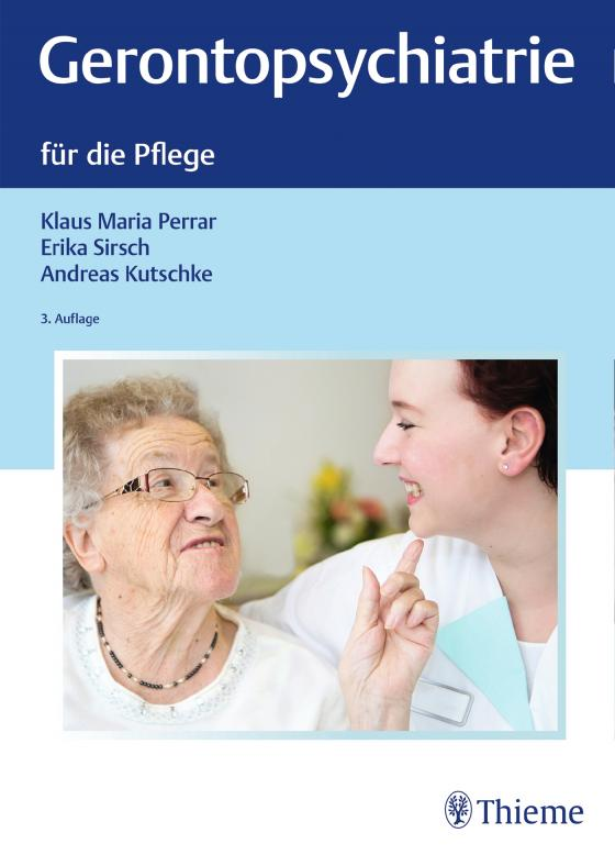 Cover-Bild Gerontopsychiatrie für die Pflege