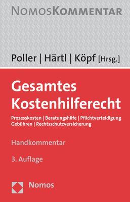 Cover-Bild Gesamtes Kostenhilferecht