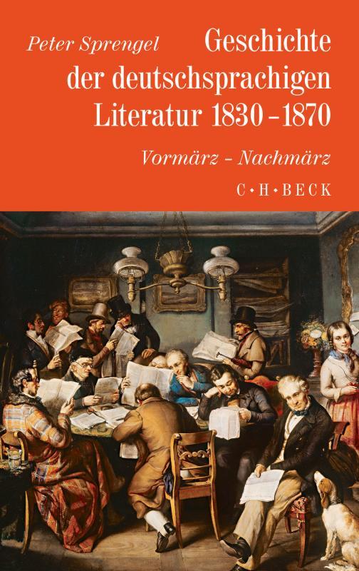 Cover-Bild Geschichte der deutschen Literatur Bd. 8: Geschichte der deutschsprachigen Literatur 1830-1870