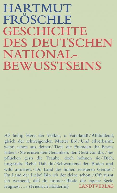 Cover-Bild Geschichte des deutschen Nationalbewußtseins