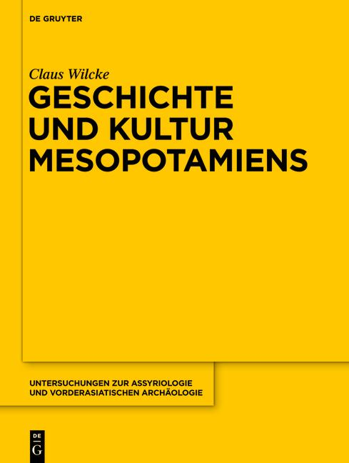 Cover-Bild Geschichte und Kultur Mesopotamiens