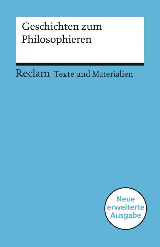 Cover-Bild Geschichten zum Philosophieren