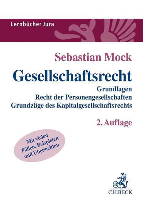 Cover-Bild Gesellschaftsrecht