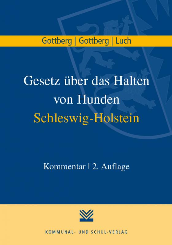 Cover-Bild Gesetz über das Halten von Hunden Schleswig-Holstein
