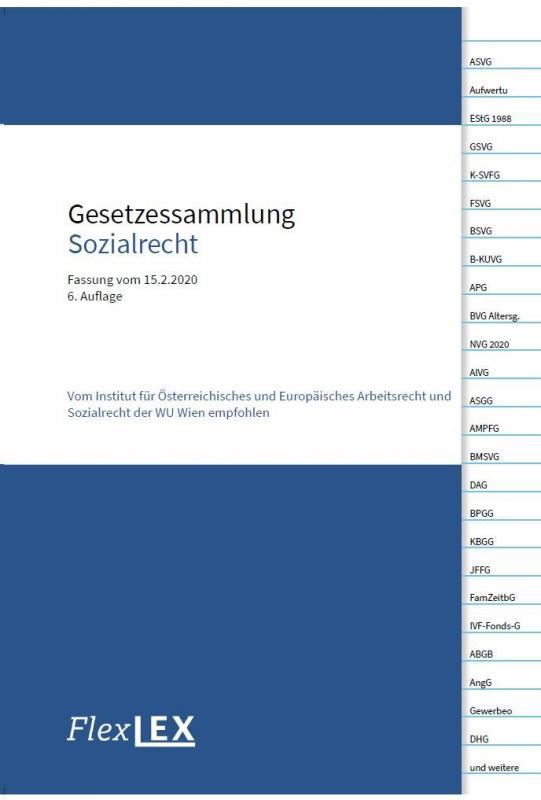 Cover-Bild Gesetzessammlung Sozialrecht