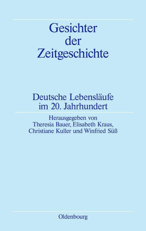Cover-Bild Gesichter der Zeitgeschichte