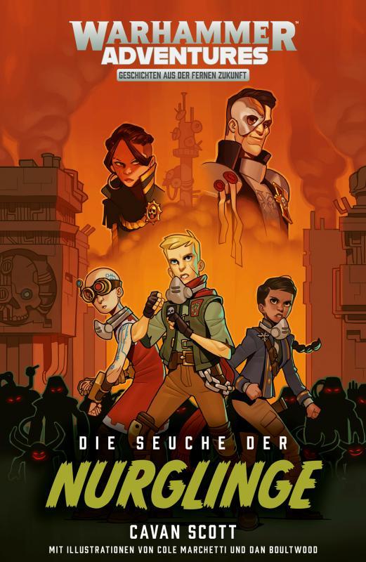 Cover-Bild Gespaltene Galaxis 05 - Die Seuche der Nurglinge