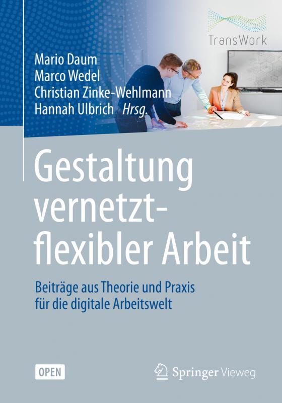 Cover-Bild Gestaltung vernetzt-flexibler Arbeit