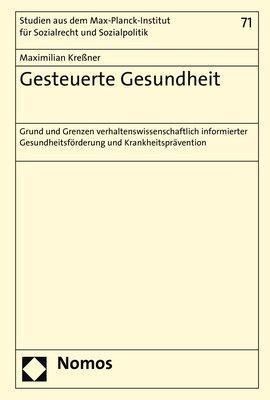 Cover-Bild Gesteuerte Gesundheit